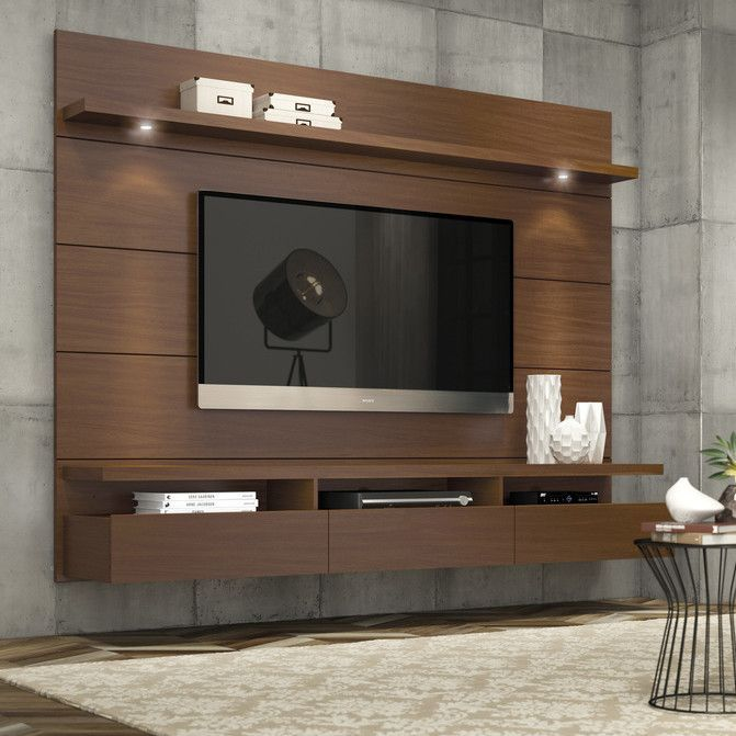 میز تلویزیون دیواری ،ساده و مدرن