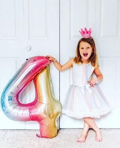 ژست تولد دخترانه ،ایده عکاسی تولد دخترانه تک نفره
