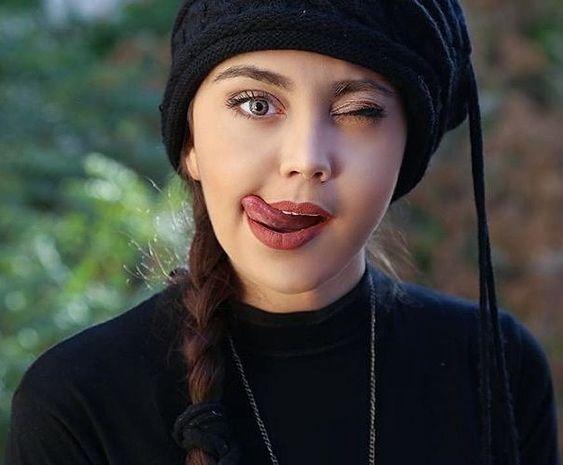 عکس فیک دخترونه طبیعی از صورت