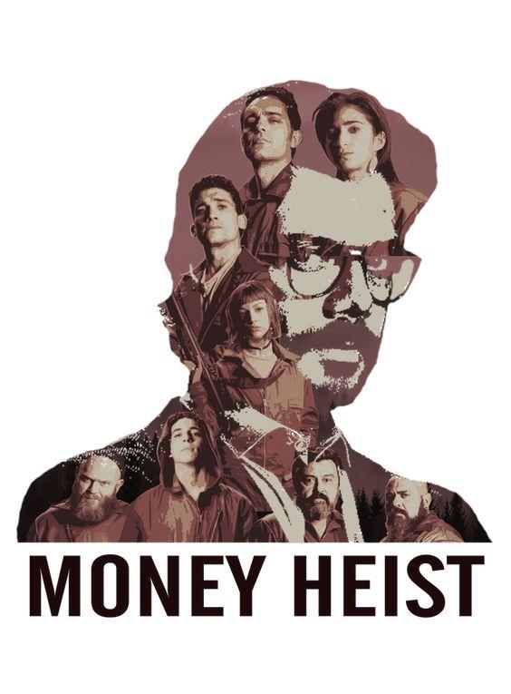 پروفایل مانی هیست money heist ، la casa de papel