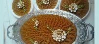 طرز تهیه حلوا ساده زعفرانی با آرد گندم